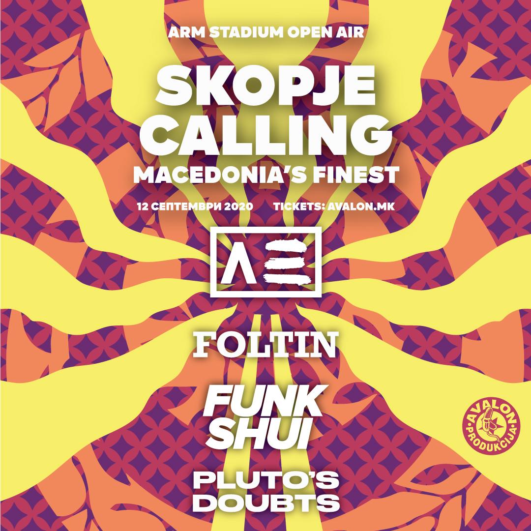 Skopje Calling – Macedonia's Finest Edition во сабота на стадионот на АРМ