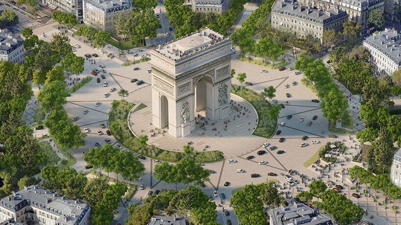 Авенијата Шанз-Елизе во Париз ќе биде претворена во градина