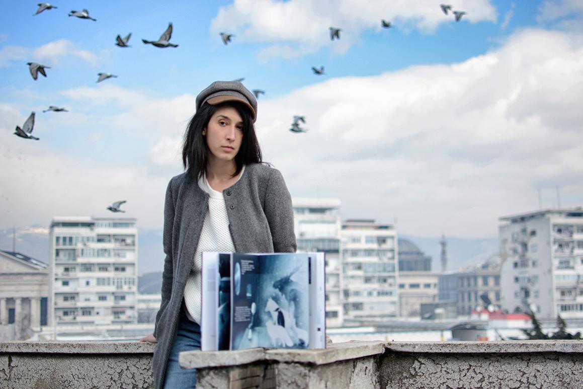 """Ника Гавровска – """"Бел""""  е приказна за безрезервна љубов, онаа што не е условена од времето, просторот и обликот"""